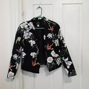simply styled floral top